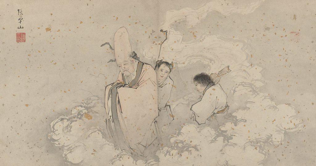 Nei Gong Gott der Langlebigkeit von Zhang Lu (1464–1538)
